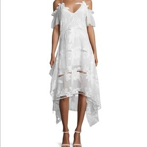 BNWT Self Portrait embroidered floral dress